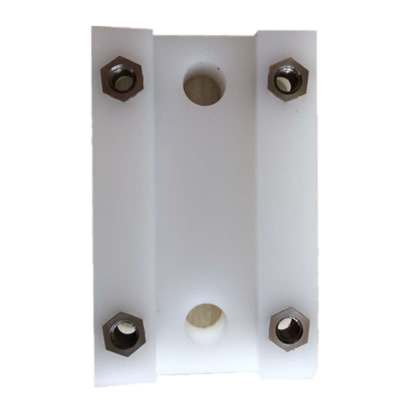 CNC machined parts with Inserts